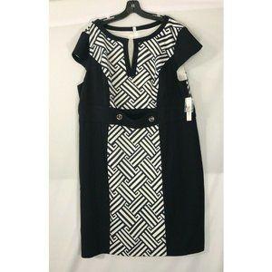 New Sandra Darren 20X DRESS Slimming Print